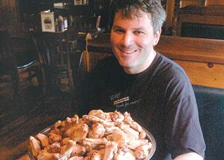 Hickory BBQ executive chef and proprietor Steve Slutzky